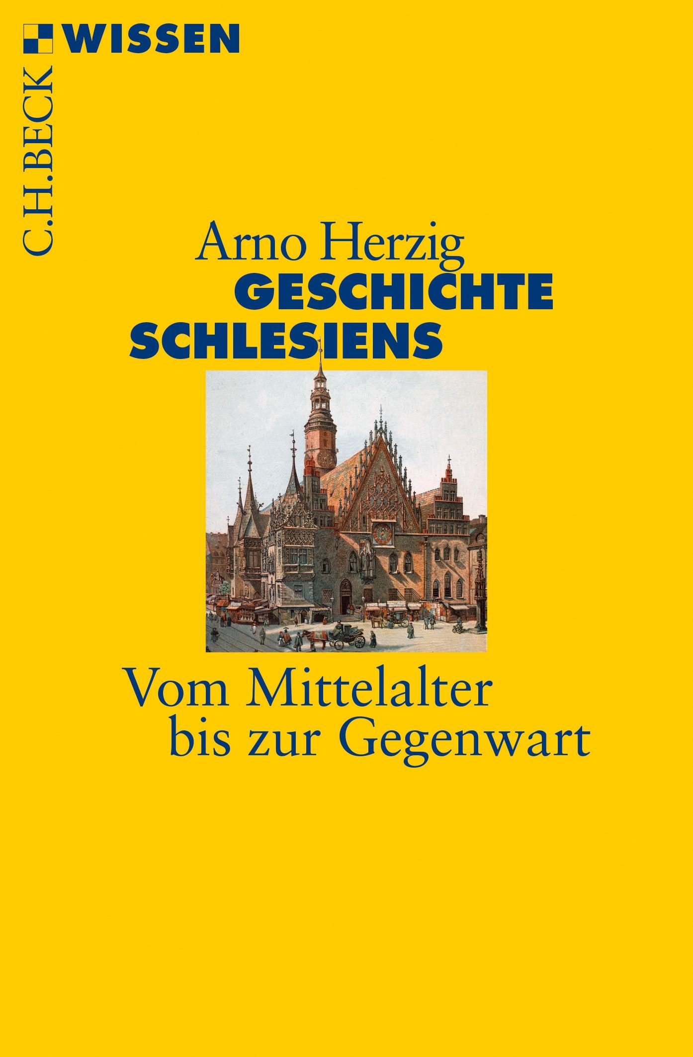 Cover des Buches 'Geschichte Schlesiens'
