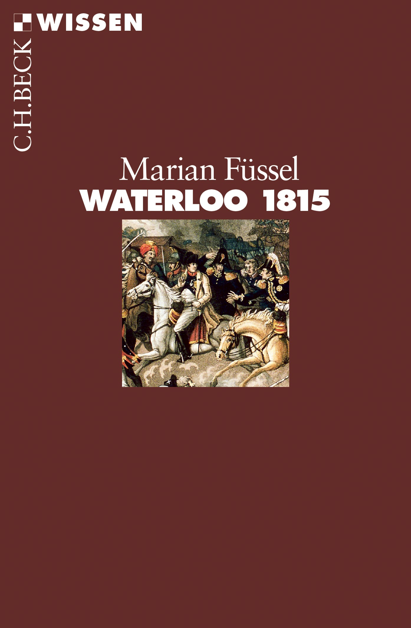 Cover des Buches 'Waterloo 1815'