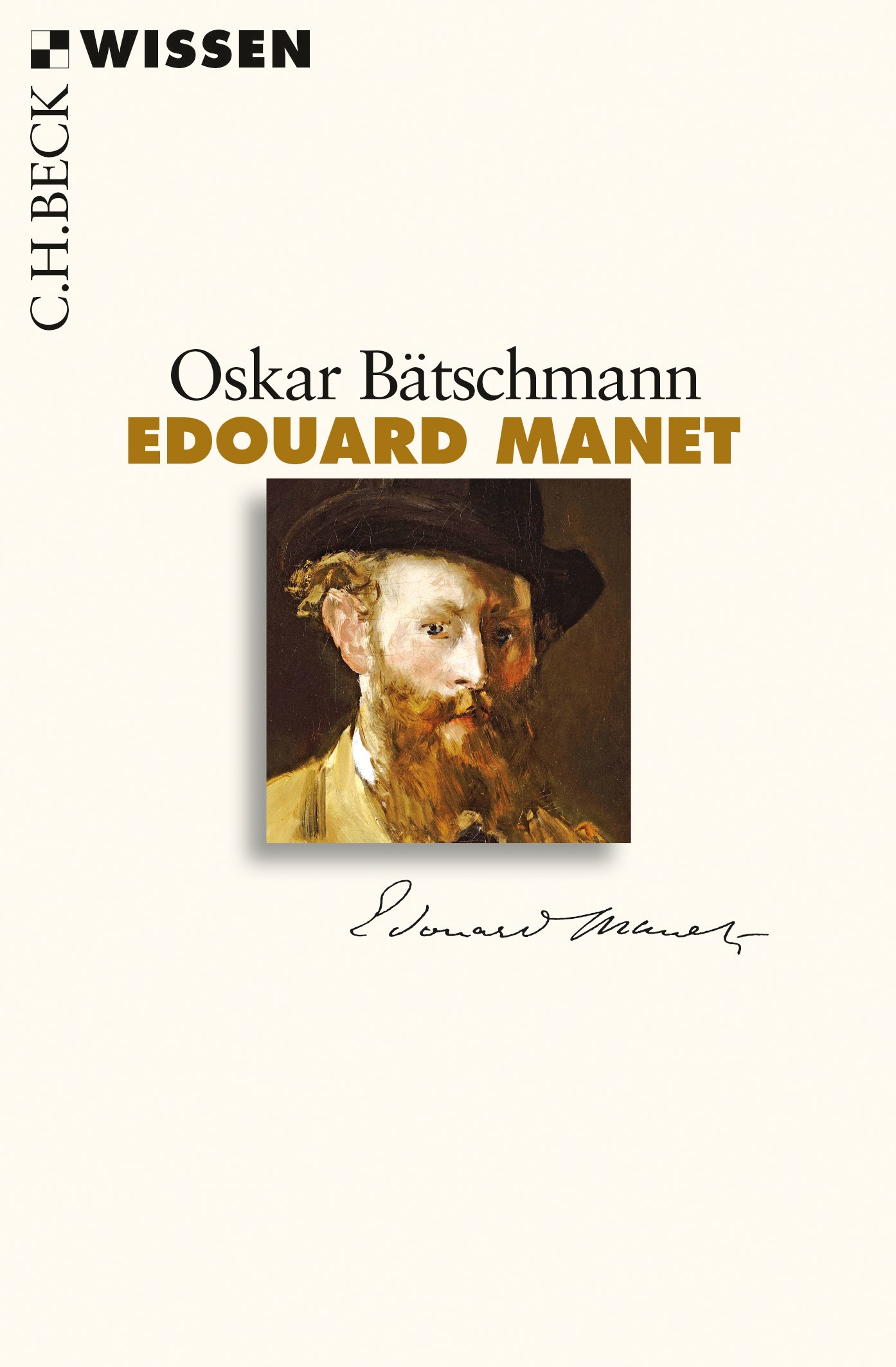 Cover des Buches 'Edouard Manet'