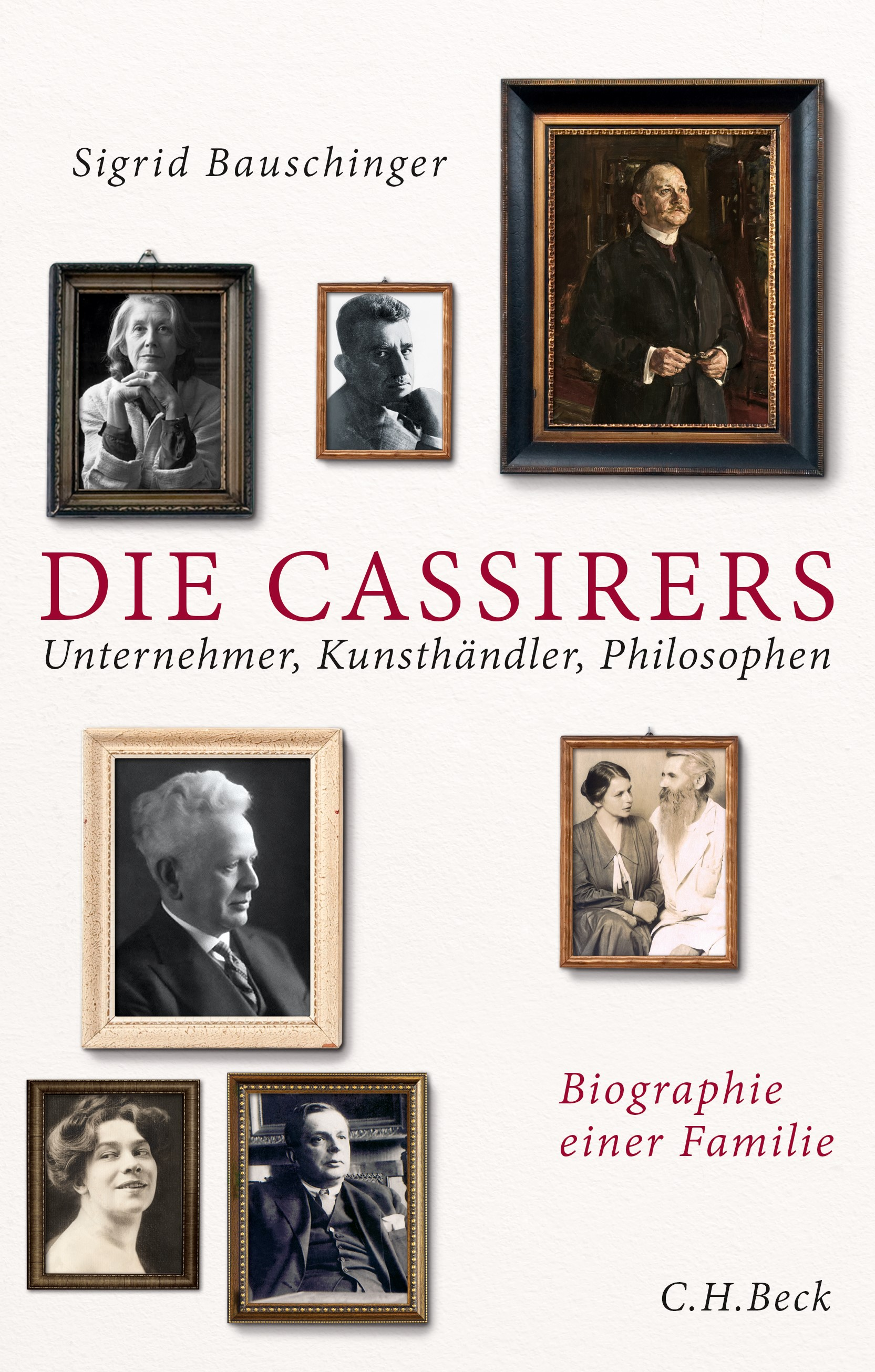 Cover des Buches 'Die Cassirers'