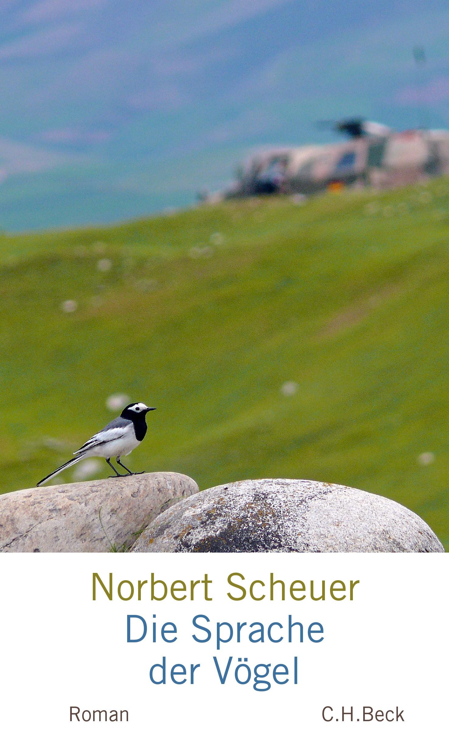 Cover des Buches 'Die Sprache der Vögel'