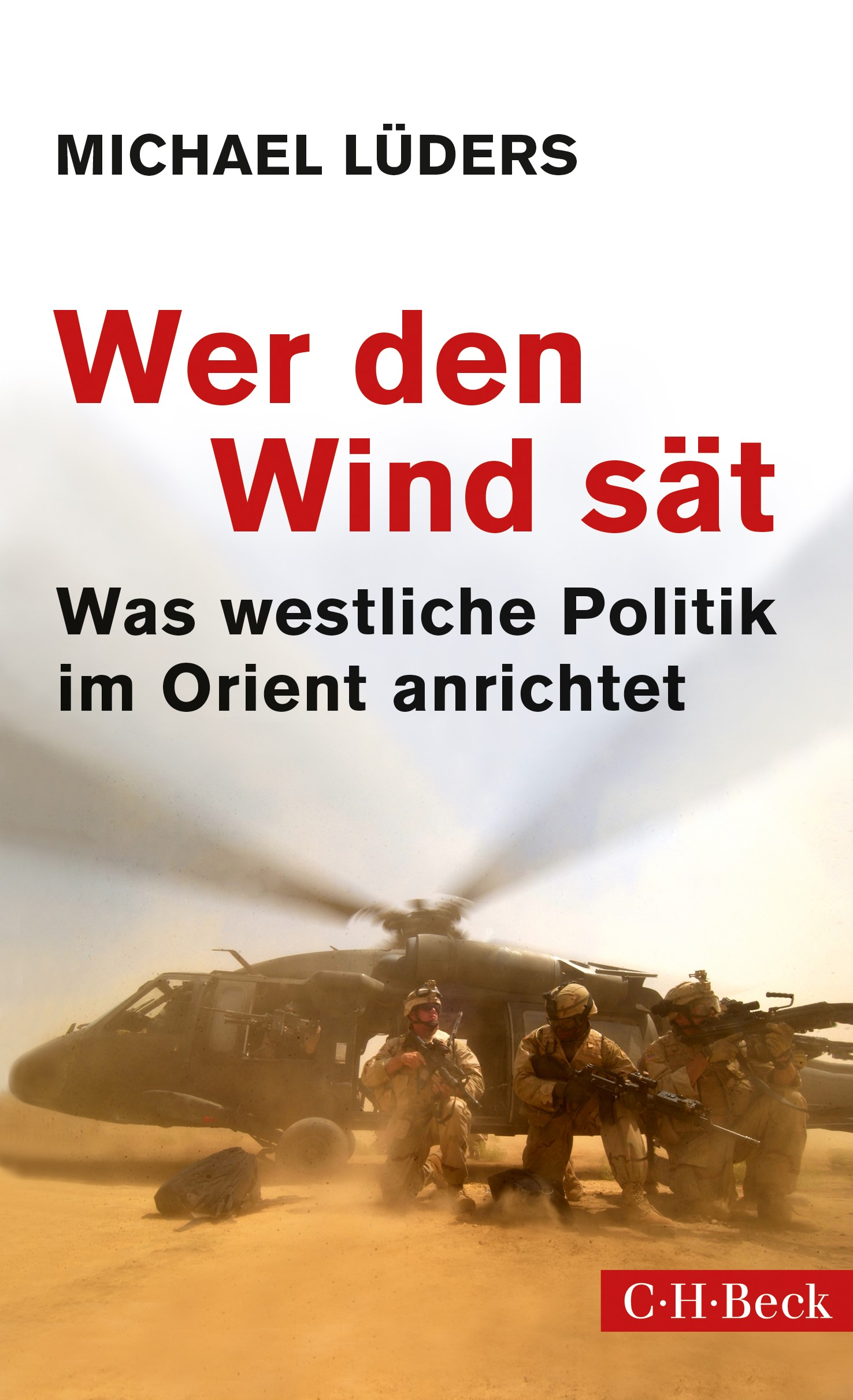 Cover des Buches 'Wer den Wind sät'