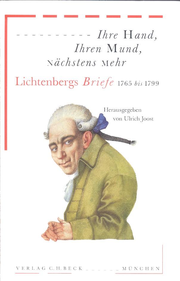 Cover des Buches 'Ihre Hand, Ihren Mund, nächstens mehr'