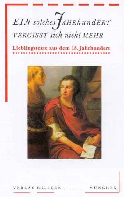 Cover des Buches 'Ein solches Jahrhundert vergißt sich nicht mehr'