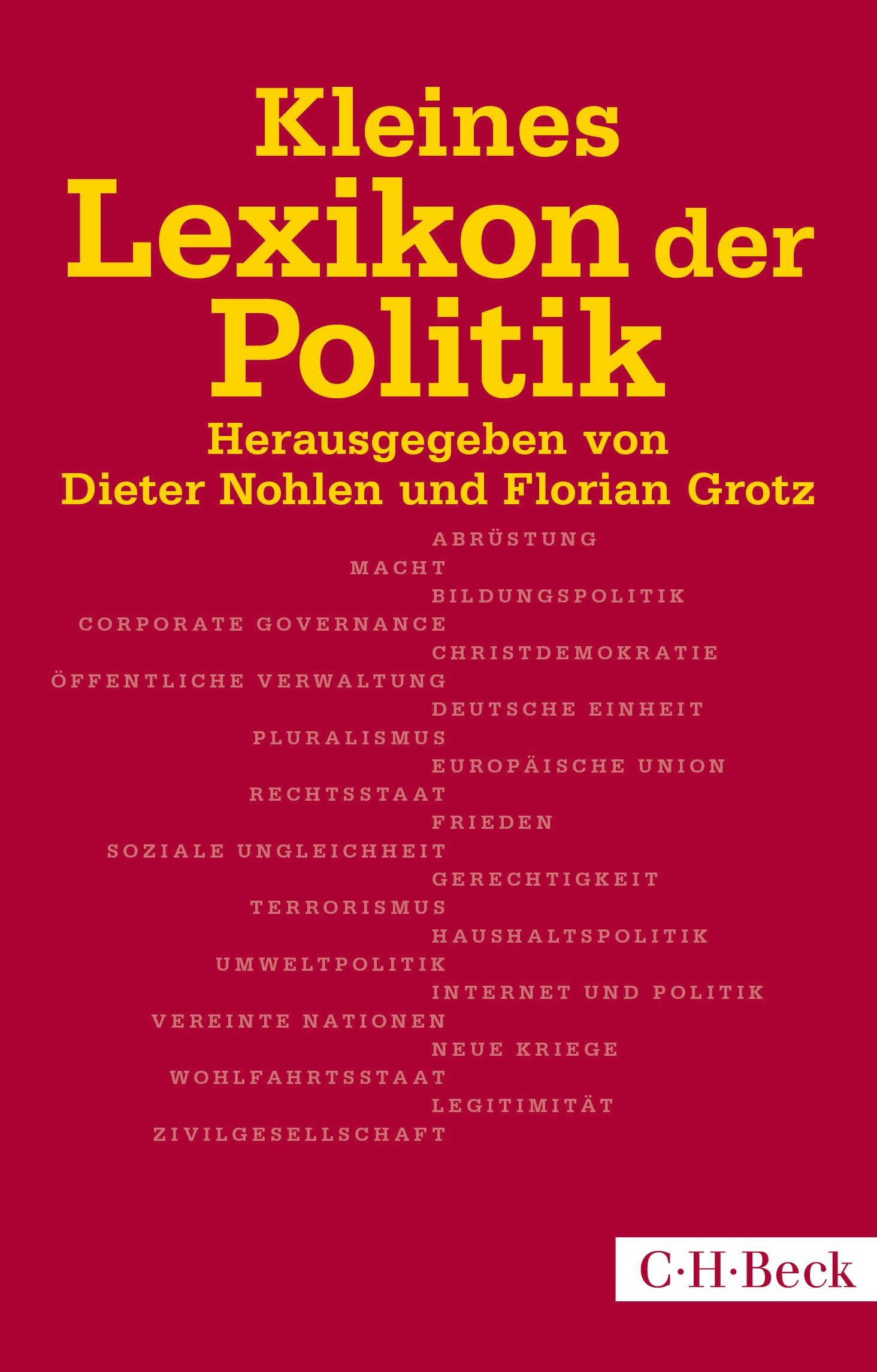 Cover des Buches 'Kleines Lexikon der Politik'