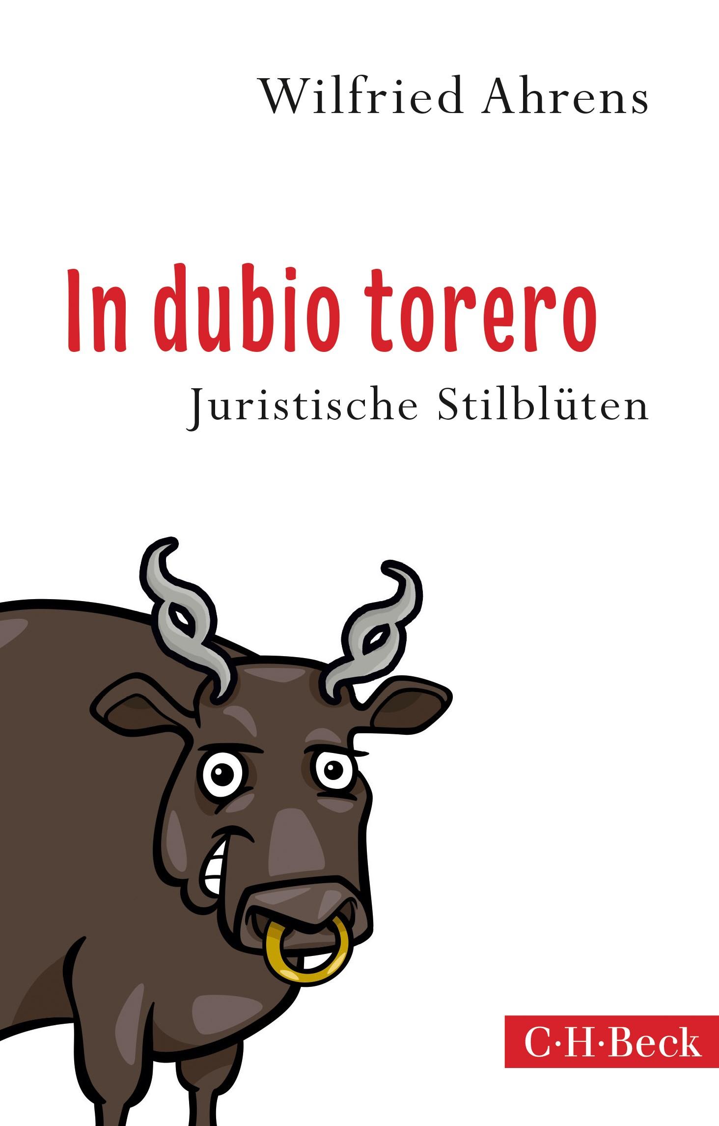 Cover des Buches 'In dubio torero'