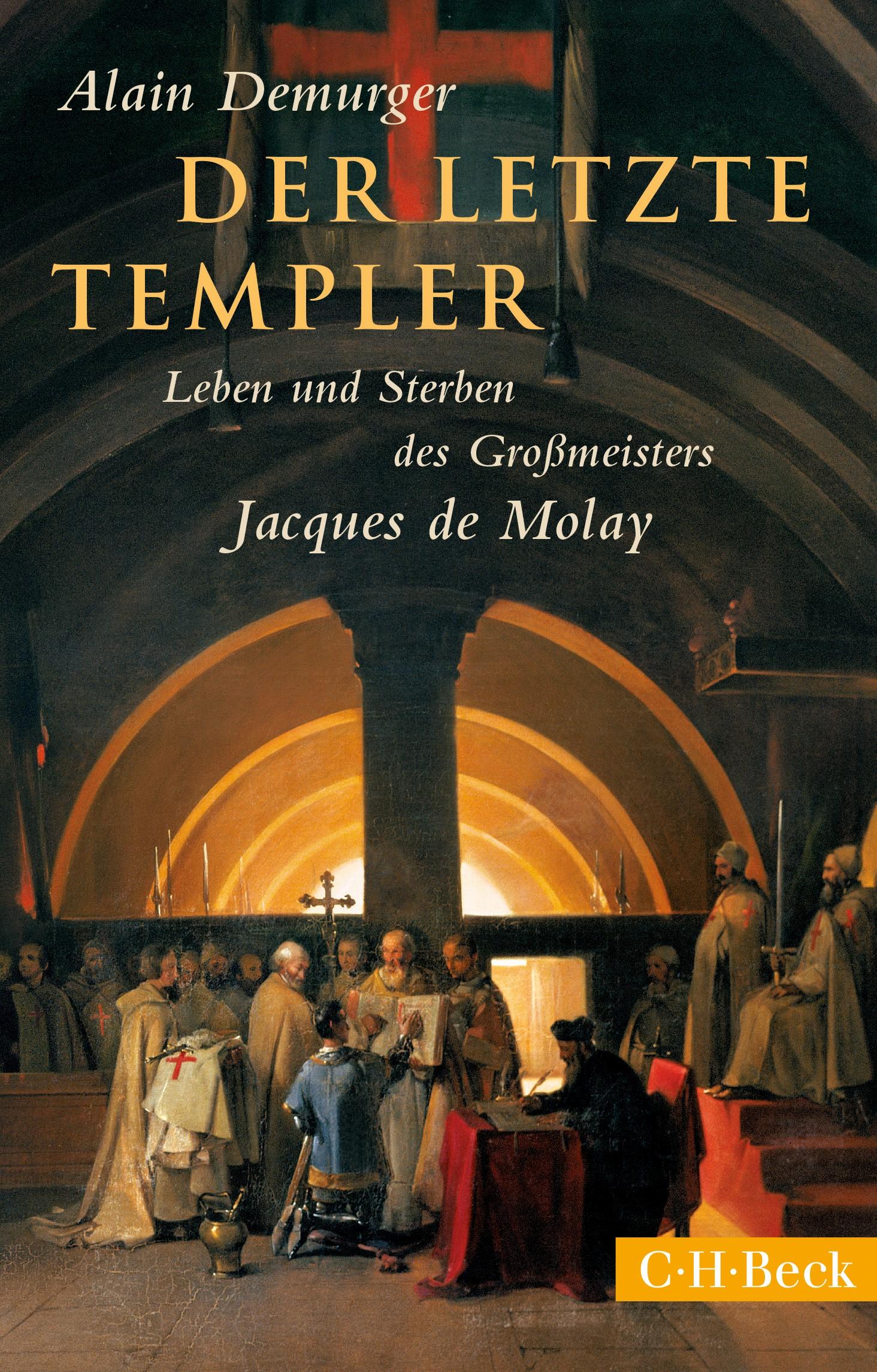 Cover des Buches 'Der letzte Templer'