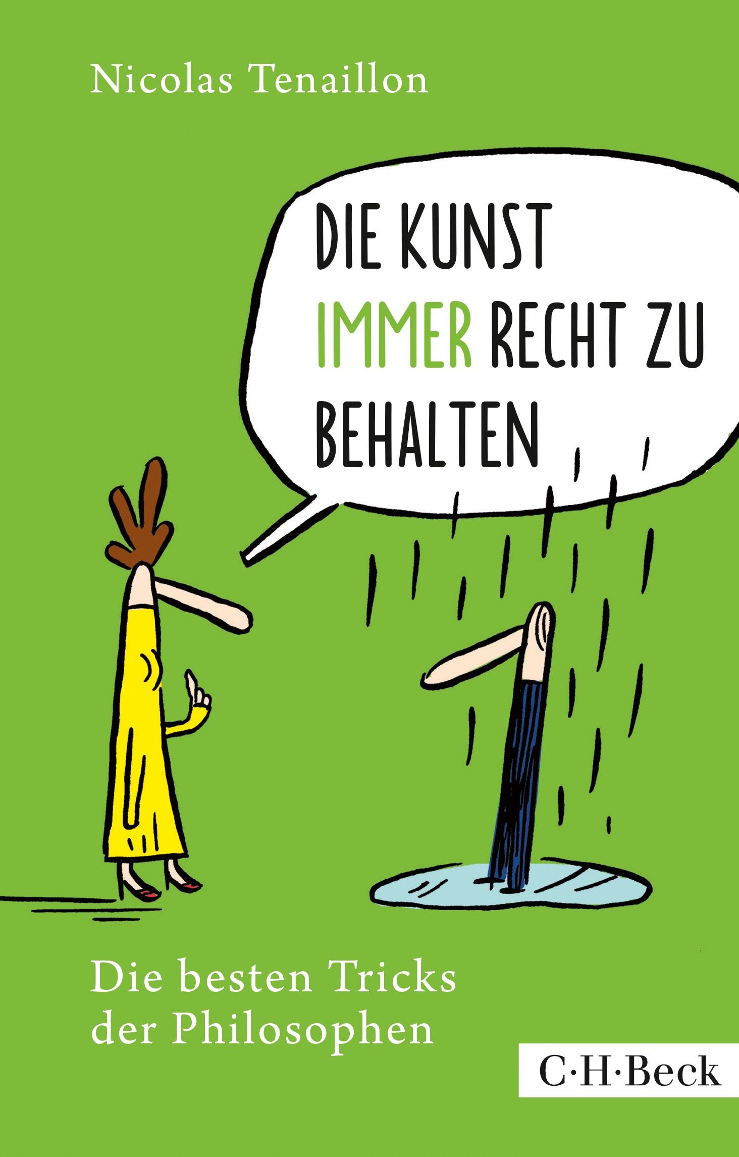 Cover des Buches 'Die Kunst, immer Recht zu behalten'