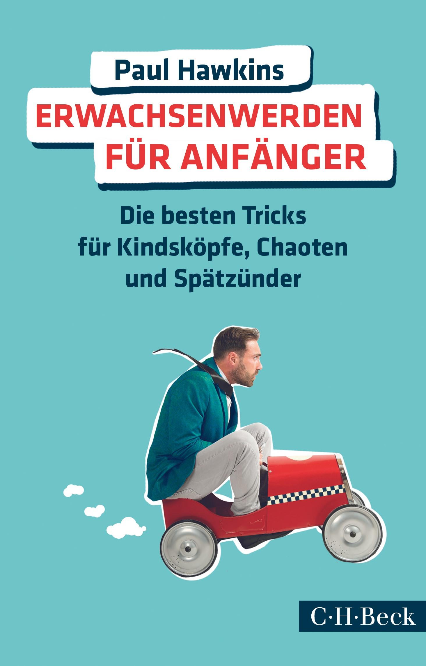 Cover des Buches 'Erwachsenwerden für Anfänger'