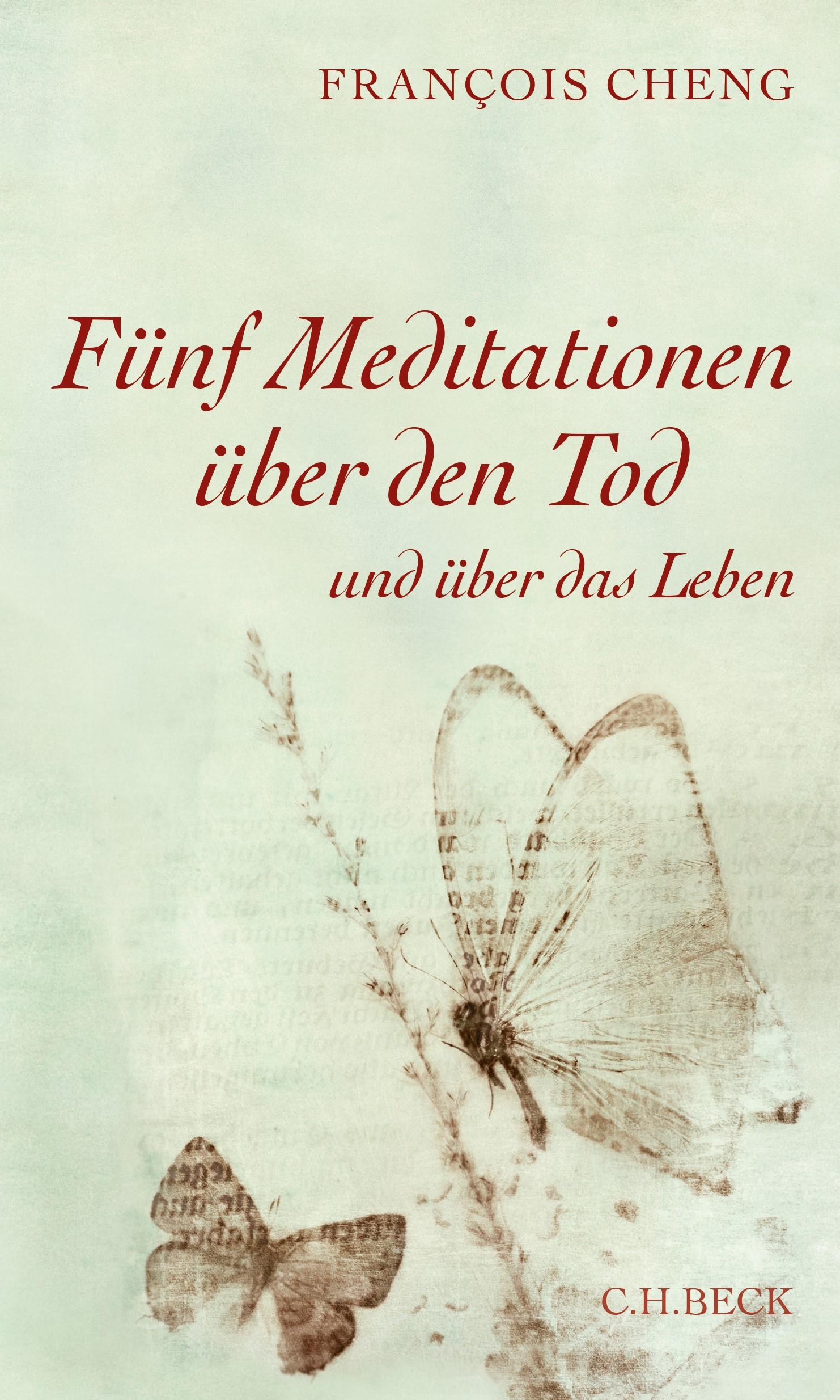 Cover des Buches 'Fünf Meditationen über den Tod'