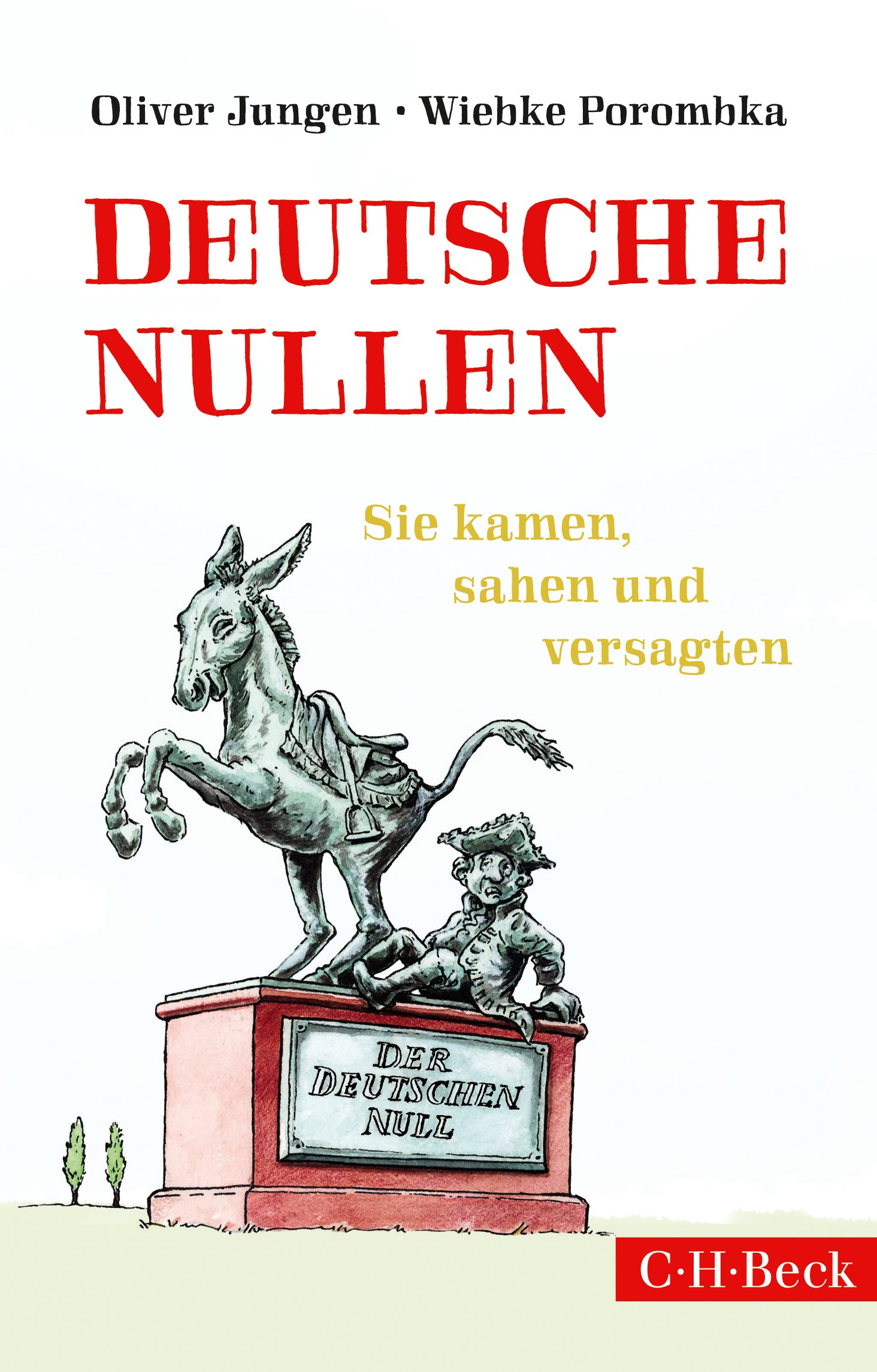 Cover des Buches 'Deutsche Nullen'