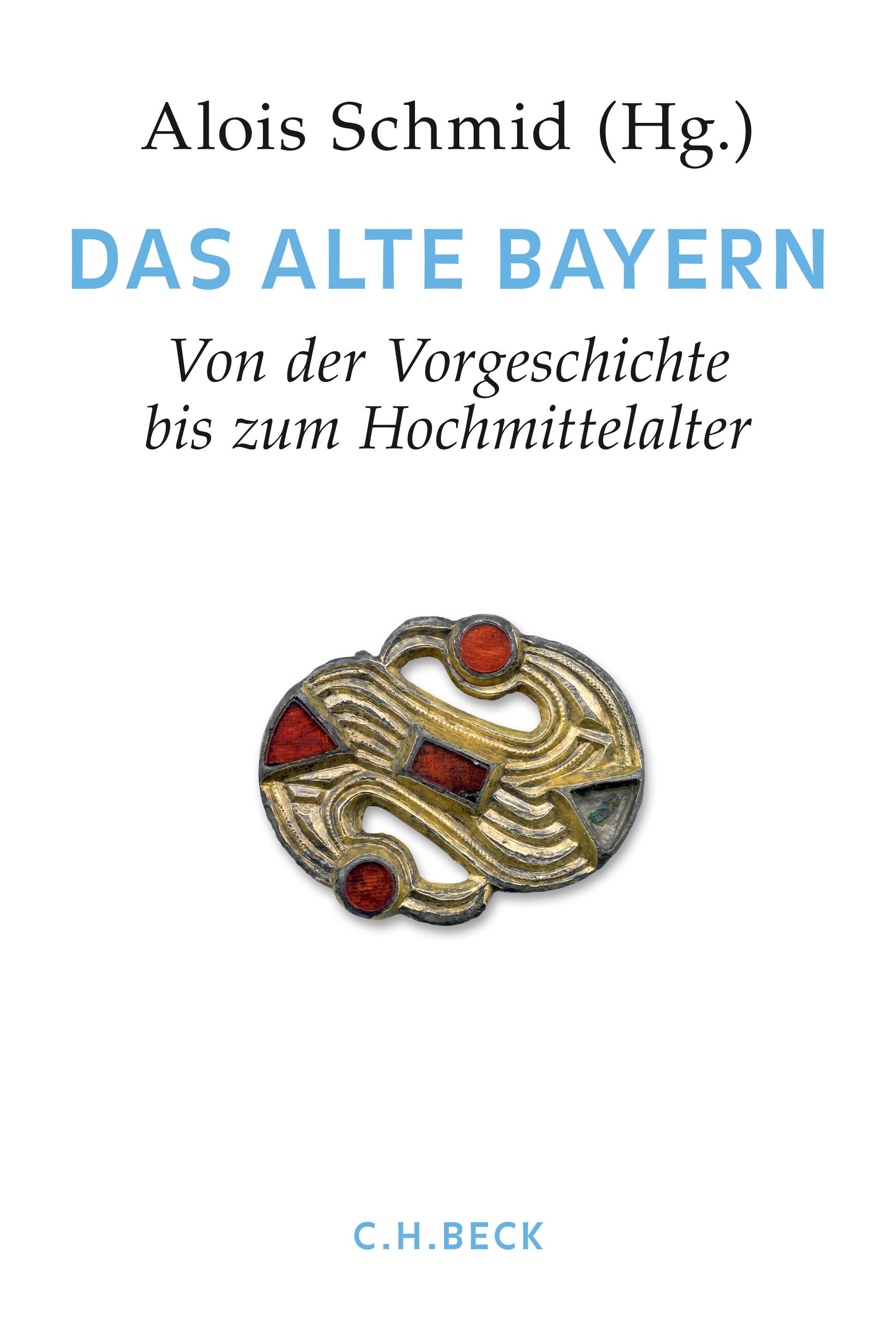 Cover des Buches 'Handbuch der bayerischen Geschichte  Bd. I: Das Alte Bayern'