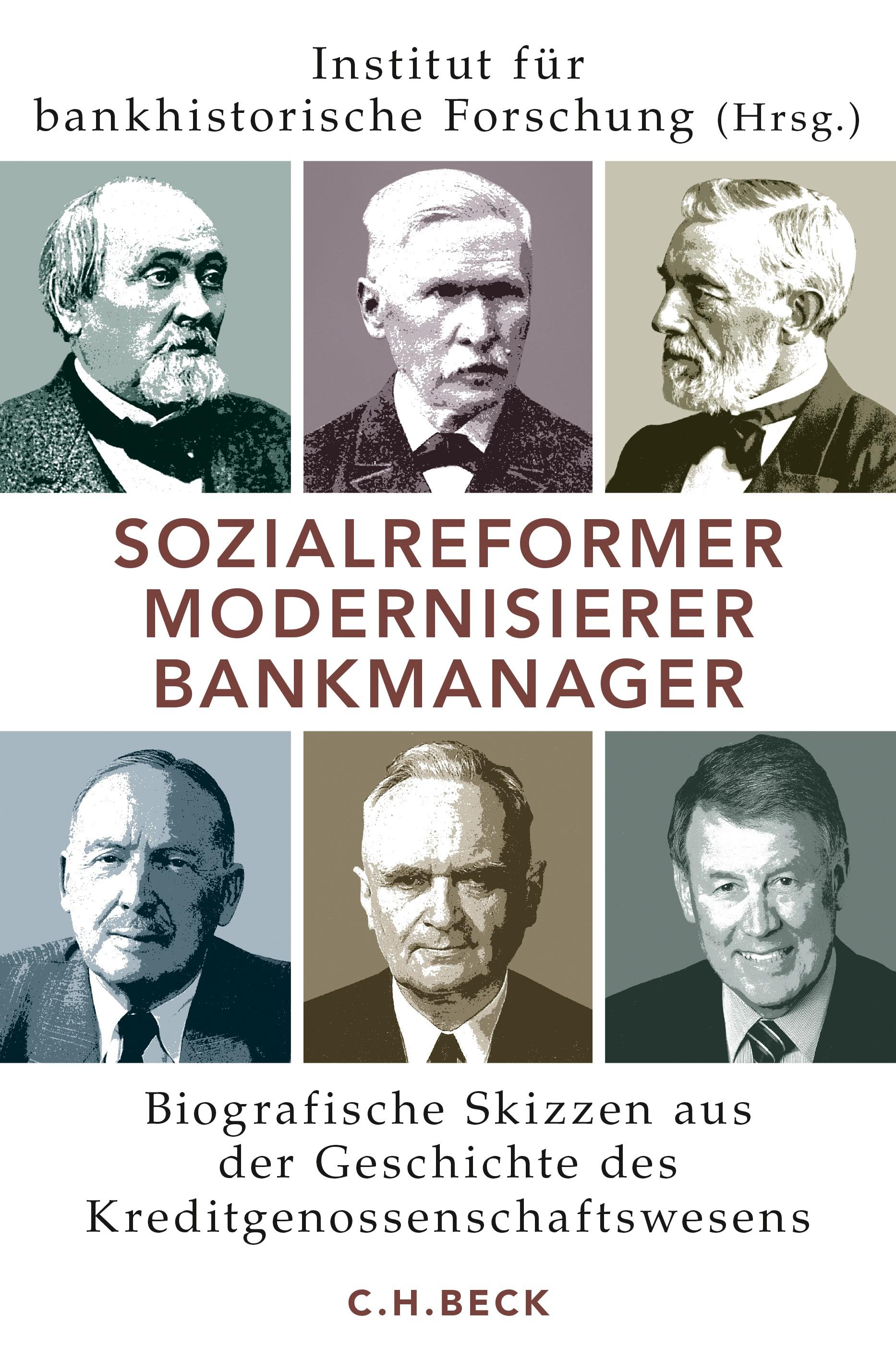 Cover des Buches 'Sozialreformer, Modernisierer, Bankmanager'