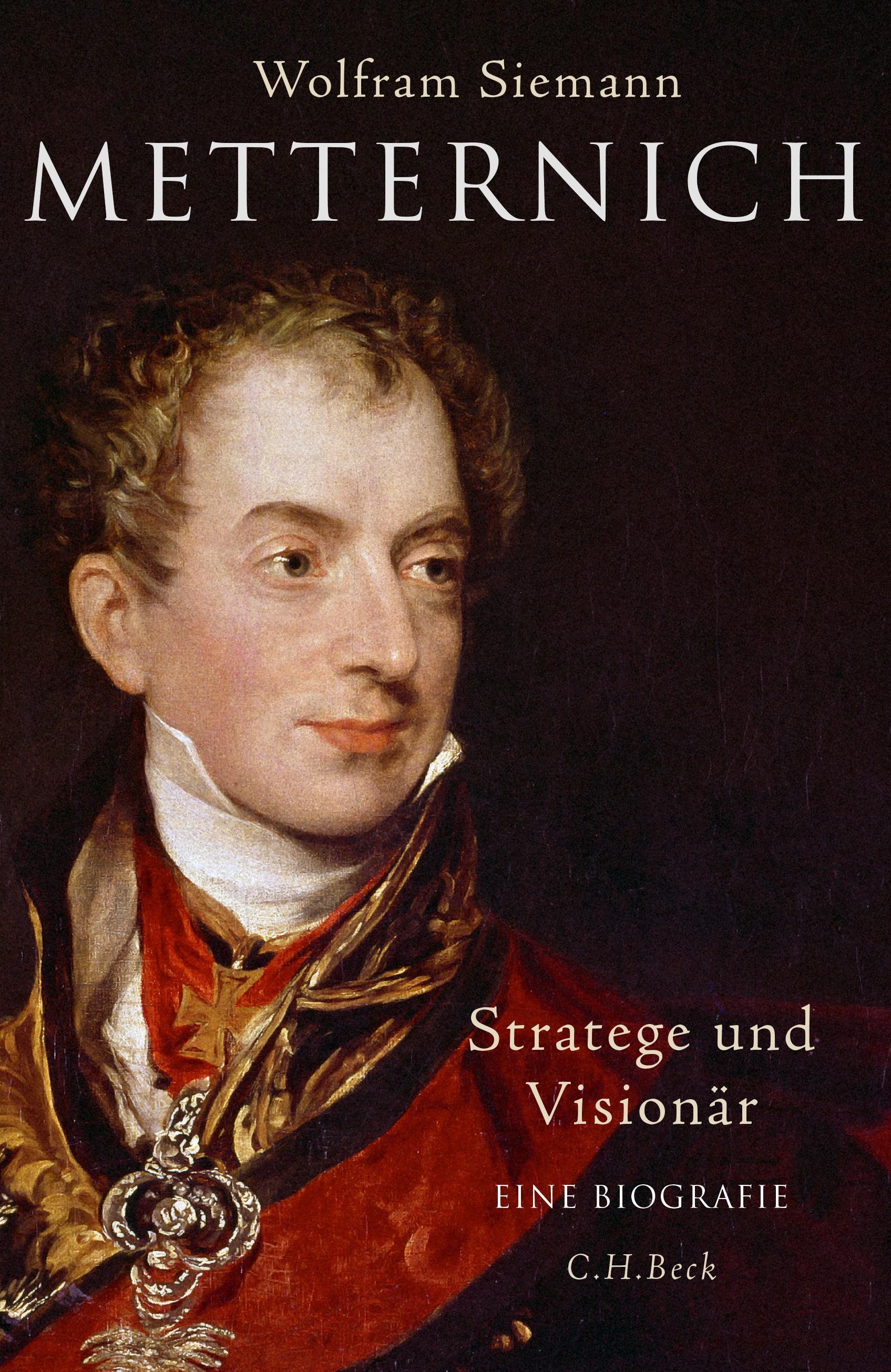 Cover des Buches 'Metternich'