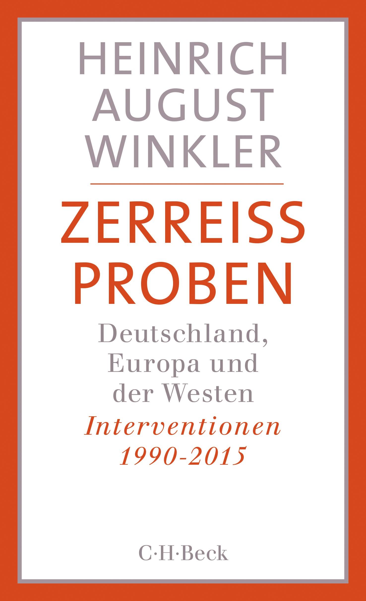 Cover des Buches 'Zerreissproben'