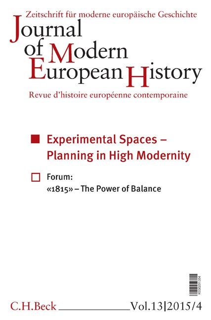 Cover des Buches 'Journal of Modern European History. Volume 13 (2015) Heft 4 = Zeitschrift für moderne europäische Geschichte = Revue d`histoire européenne contemporaine'