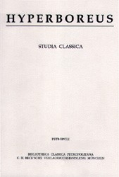 Cover des Buches 'Hyperboreus Volume 6 (2000 ) Heft 2'