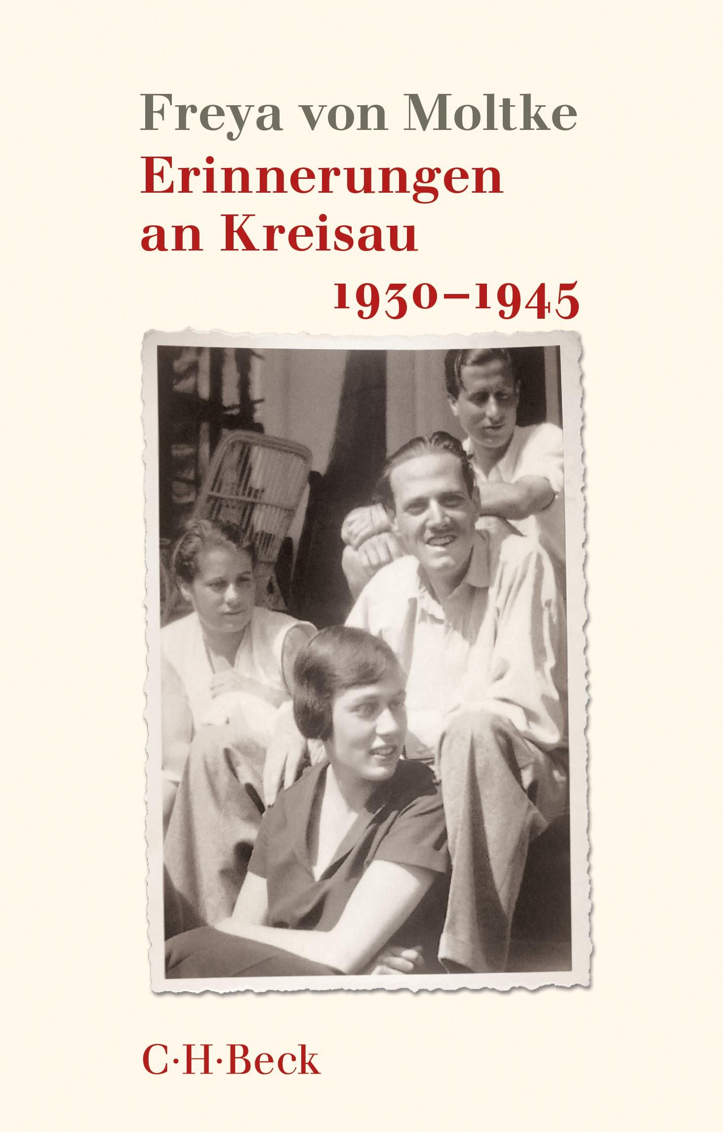 Cover des Buches 'Erinnerungen an Kreisau 1930-1945'