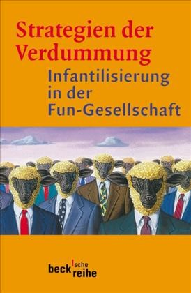 Cover des Buches 'Strategien der Verdummung'