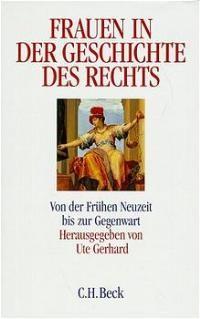 Cover des Buches 'Frauen in der Geschichte des Rechts'