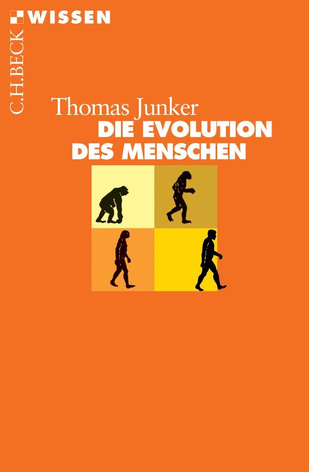 Cover des Buches 'Die Evolution des Menschen'
