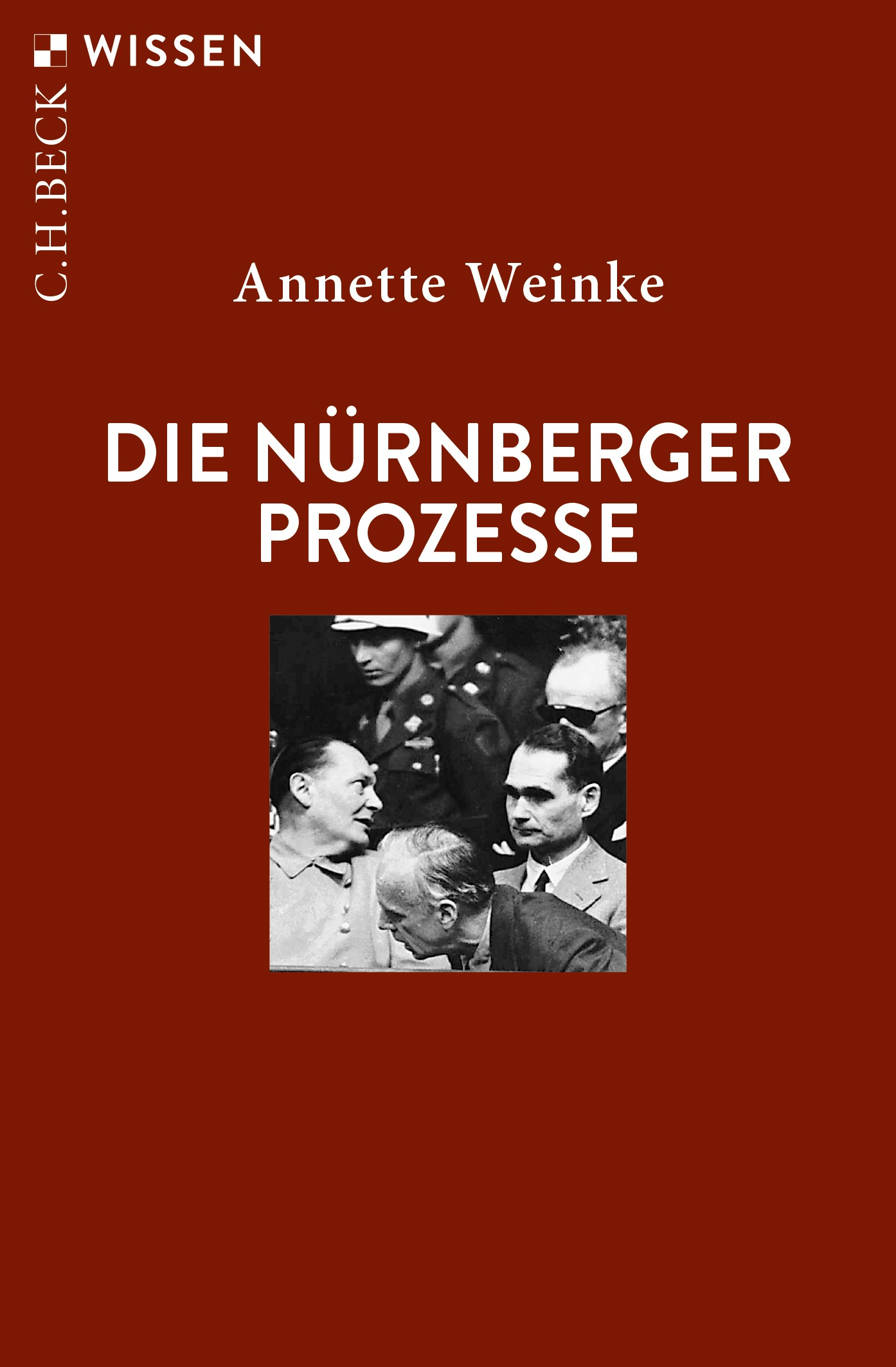 Cover des Buches 'Die Nürnberger Prozesse'
