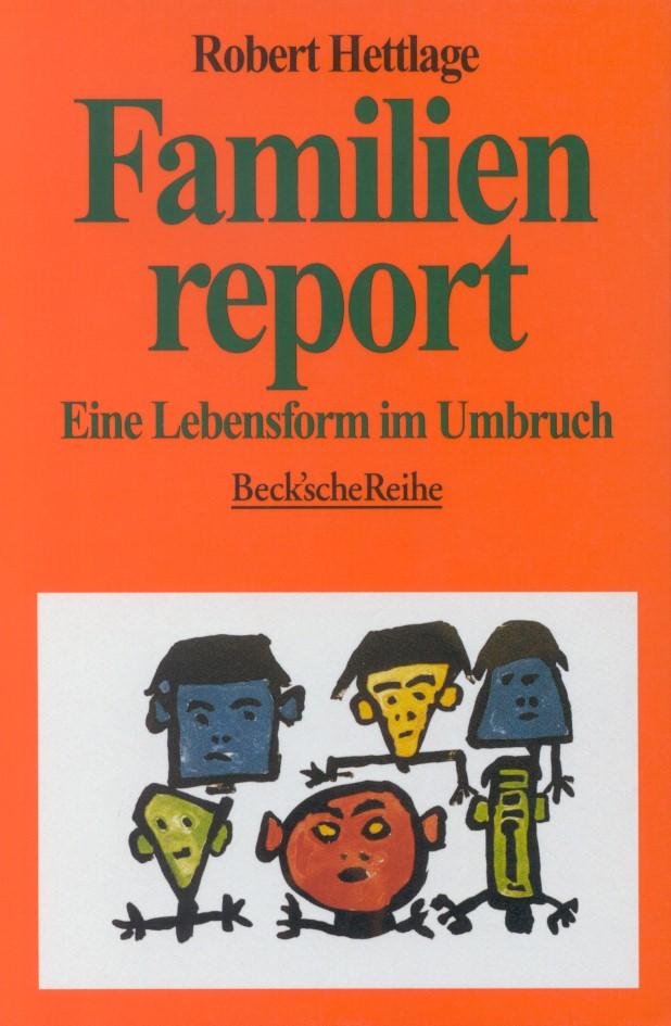 Cover des Buches 'Familienreport'