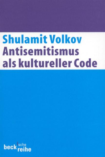 Cover des Buches 'Antisemitismus als kultureller Code'