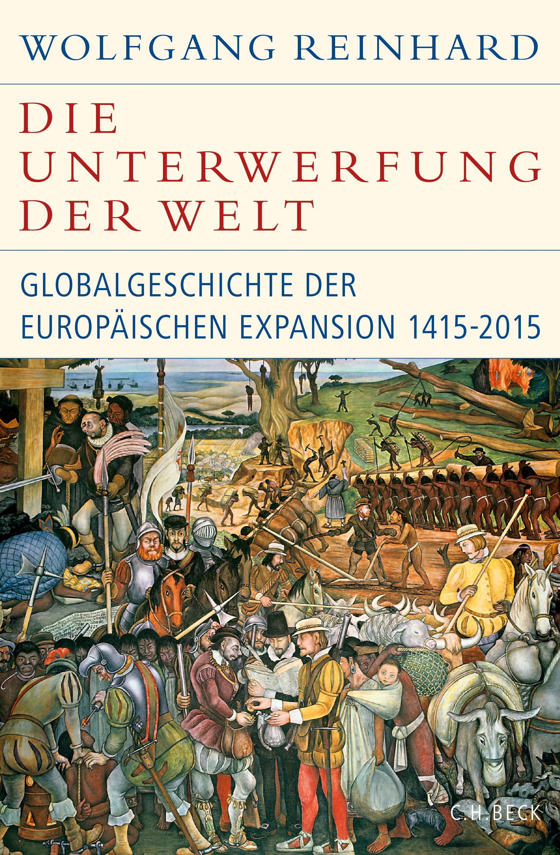 Cover des Buches 'Die Unterwerfung der Welt'