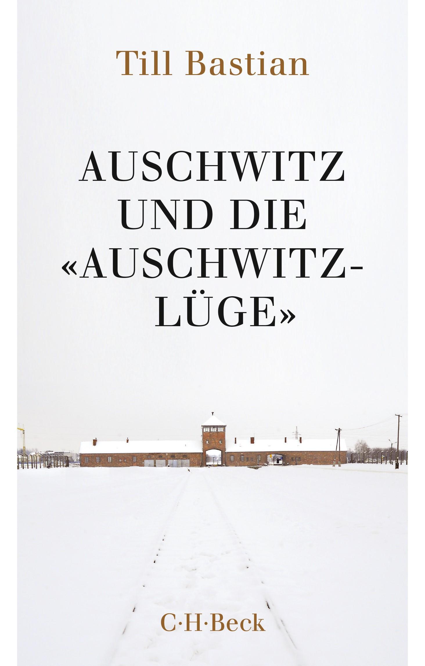 Cover des Buches 'Auschwitz und die 'Auschwitz-Lüge''