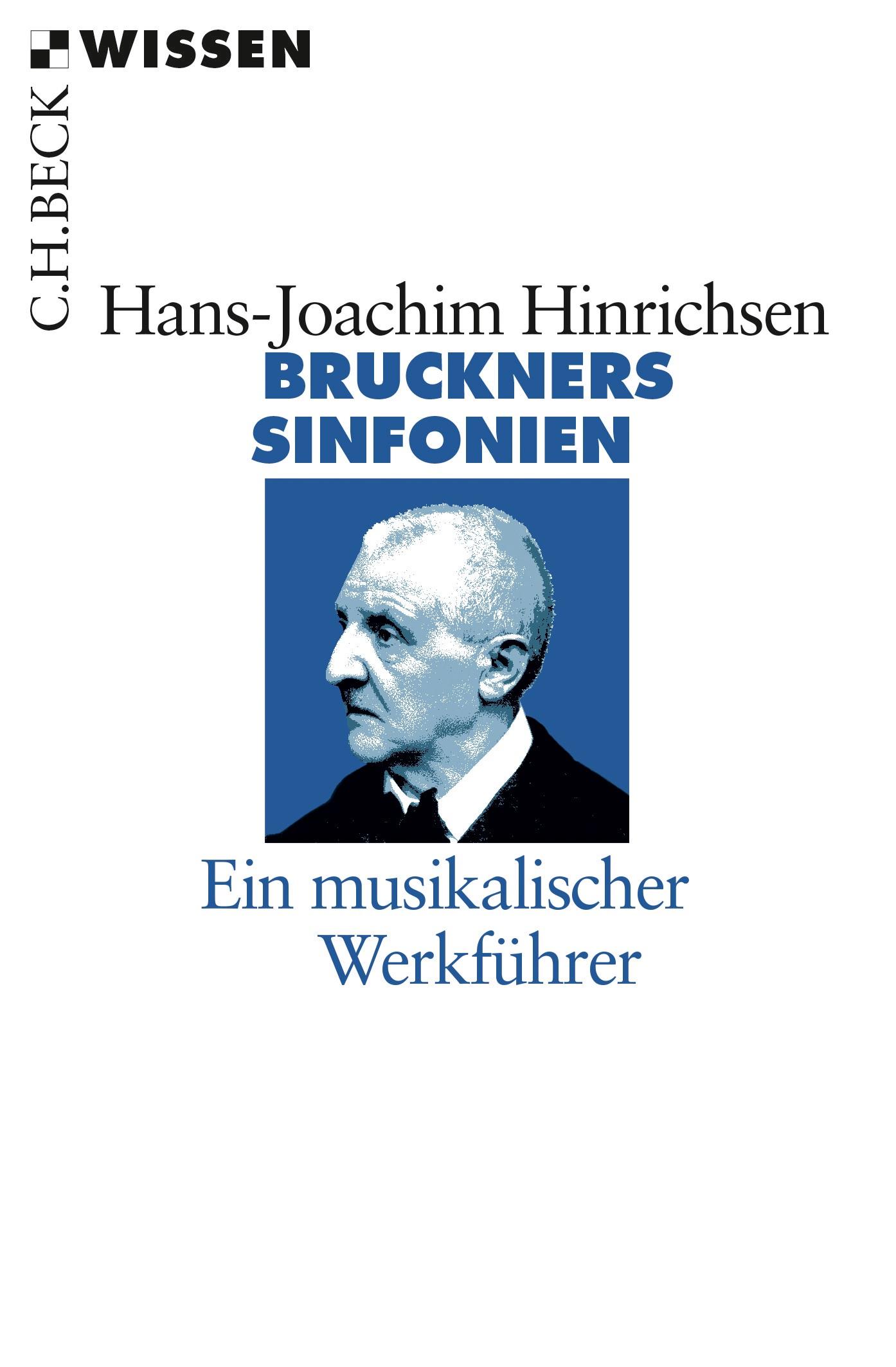 Cover des Buches 'Bruckners Sinfonien'