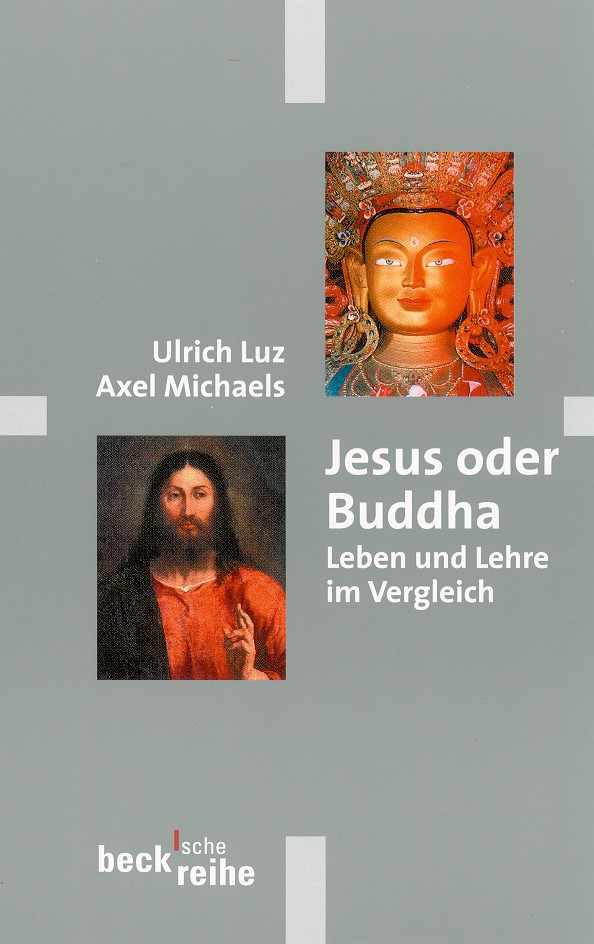 Cover des Buches 'Jesus oder Buddha'