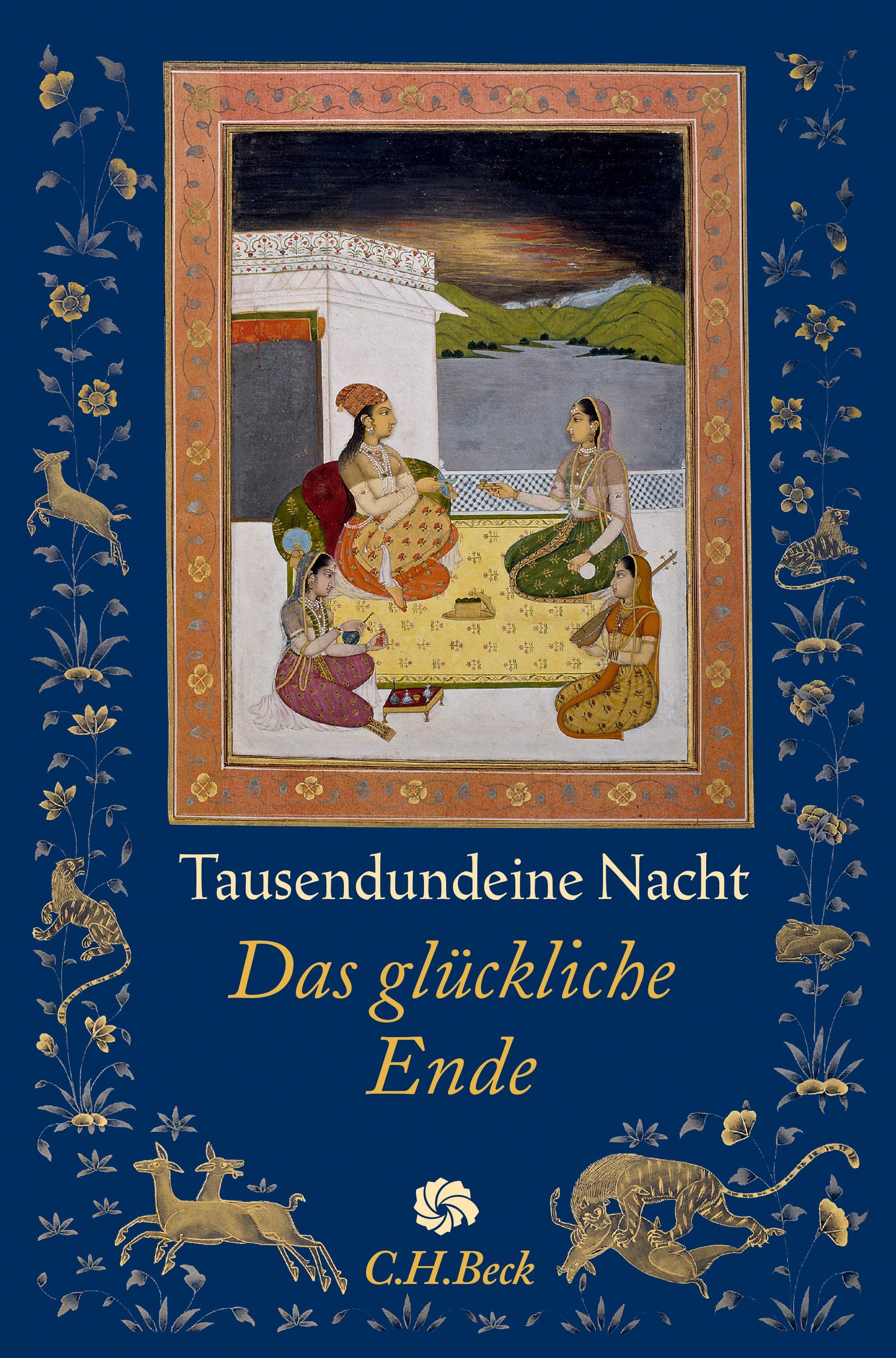 Cover des Buches 'Tausendundeine Nacht'