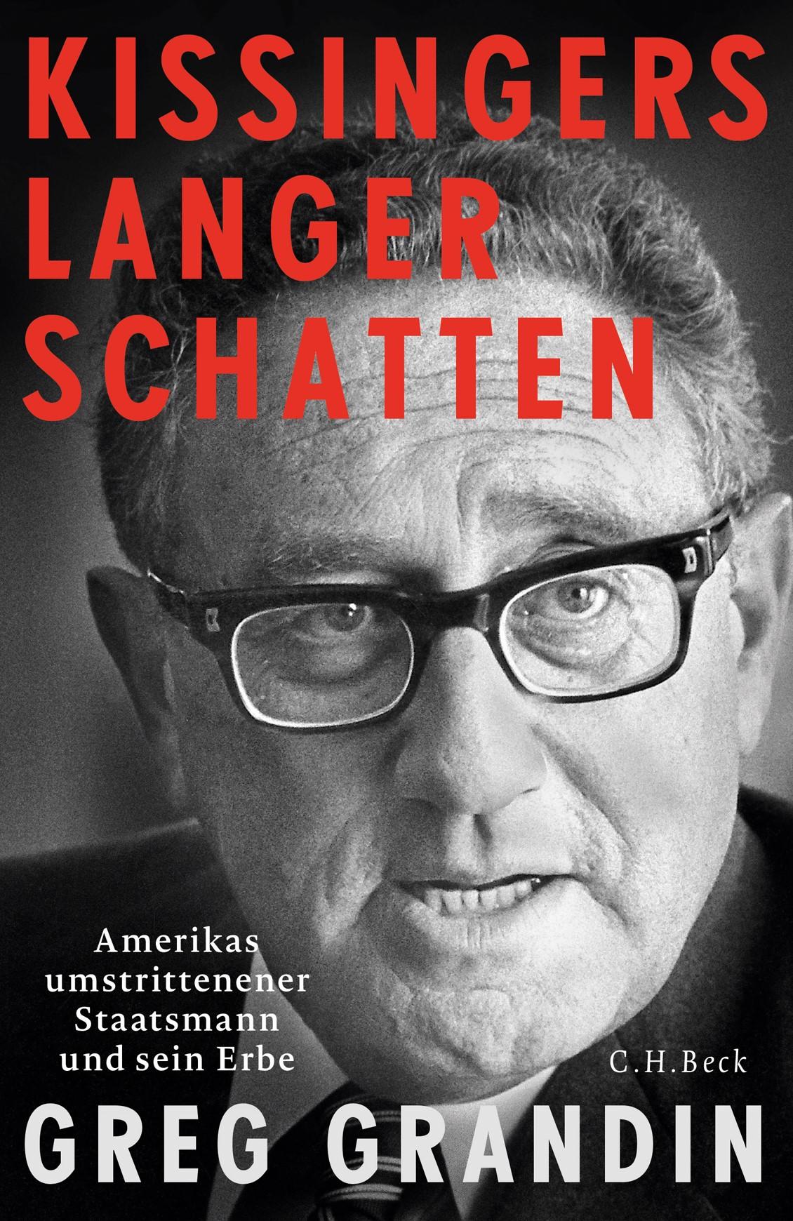 Cover des Buches 'Kissingers langer Schatten'