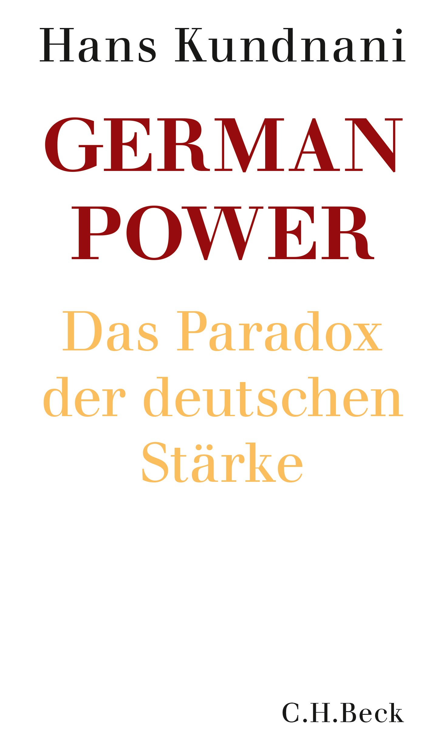 Cover des Buches 'German Power'