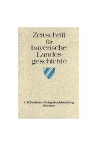 Cover des Buches 'Zeitschrift für bayerische Landesgeschichte Band 78 Heft 2/2015'