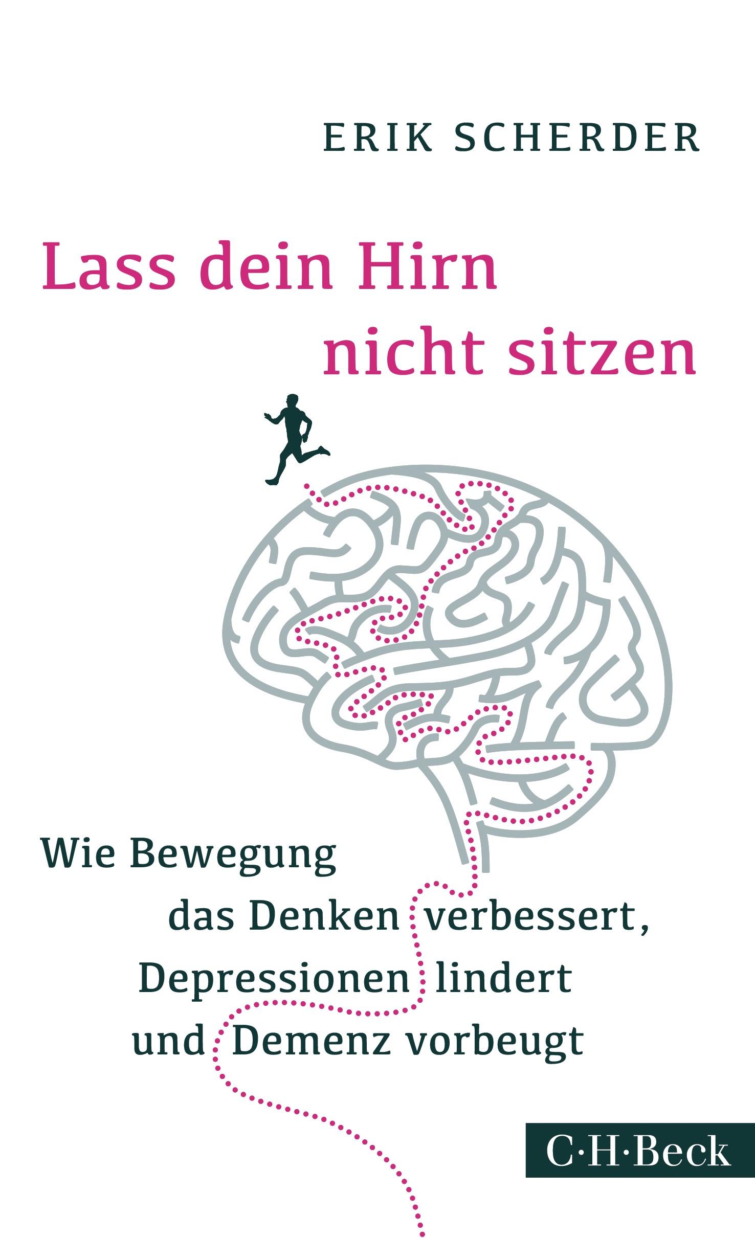 Cover des Buches 'Lass dein Hirn nicht sitzen'