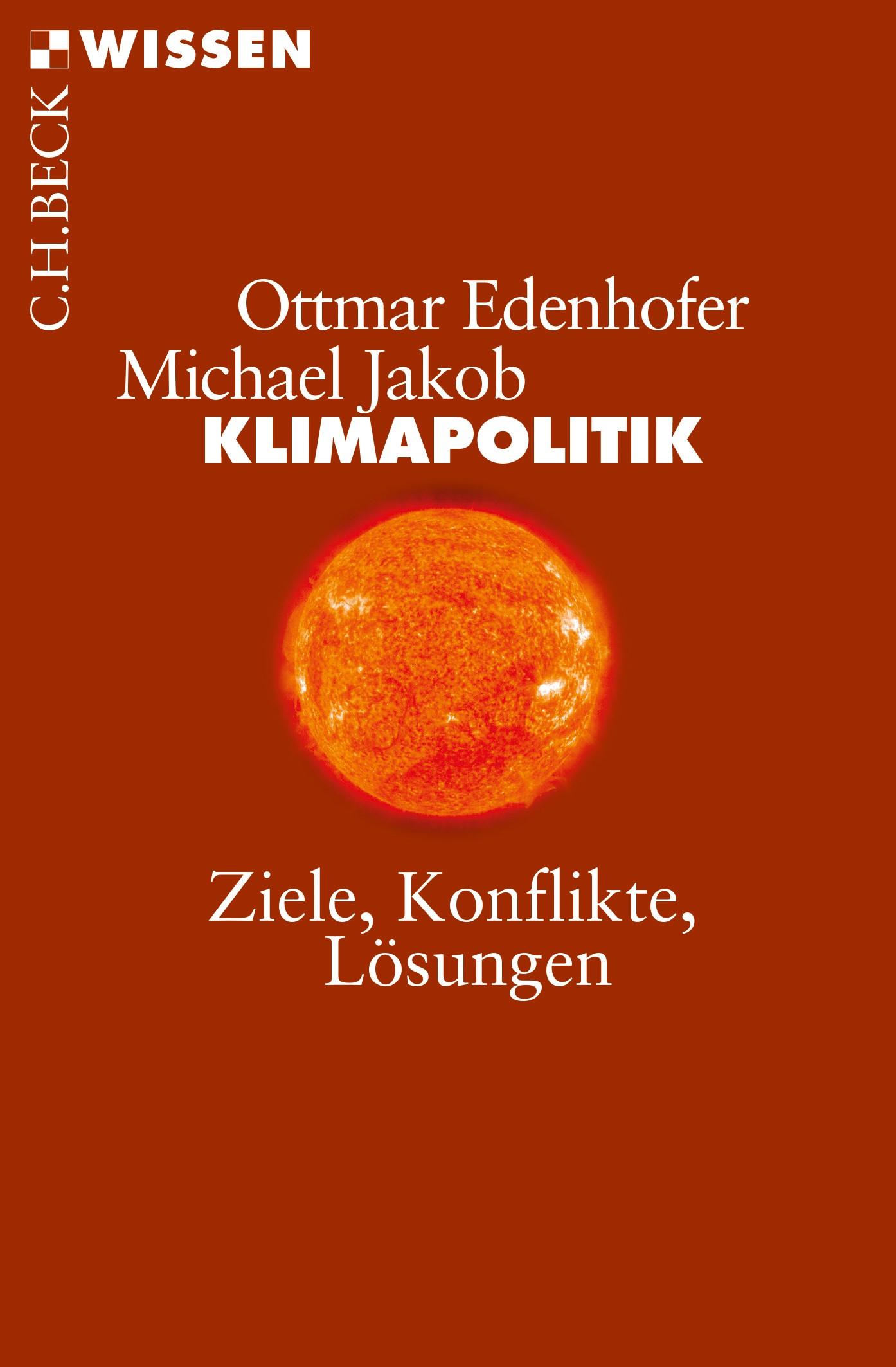 Cover des Buches 'Klimapolitik'