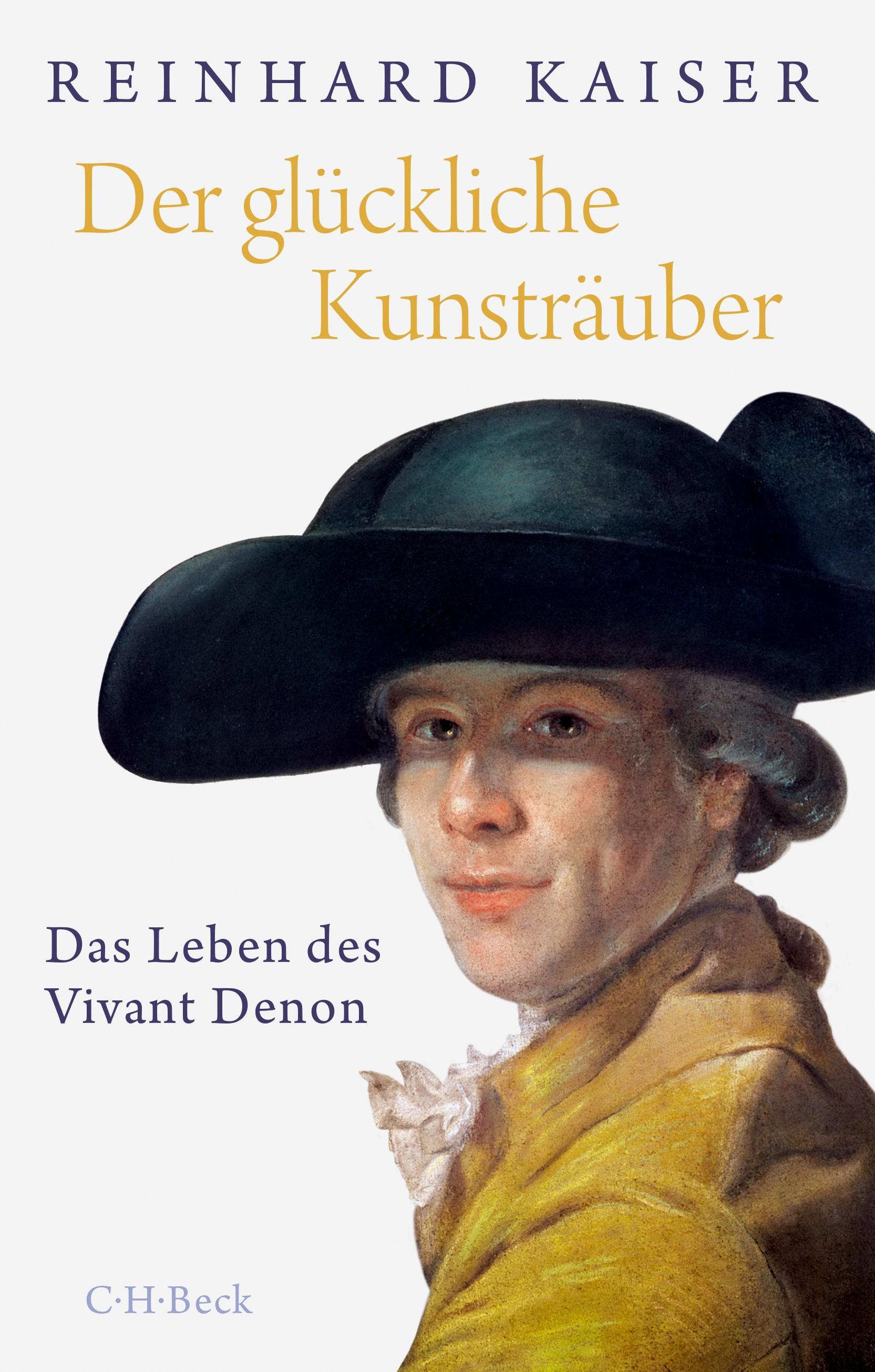 Cover des Buches 'Der glückliche Kunsträuber'