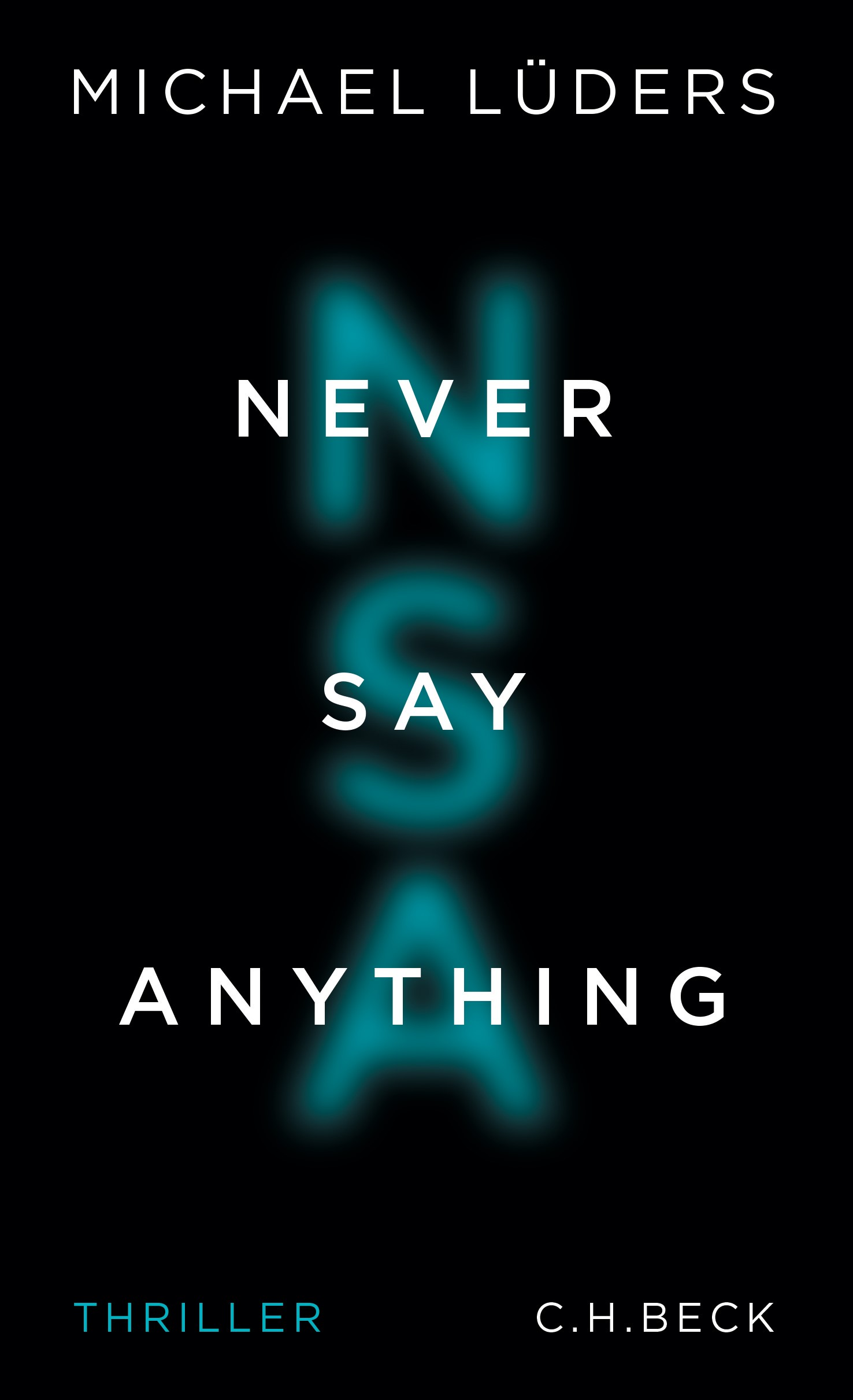 Cover des Buches 'Never Say Anything'