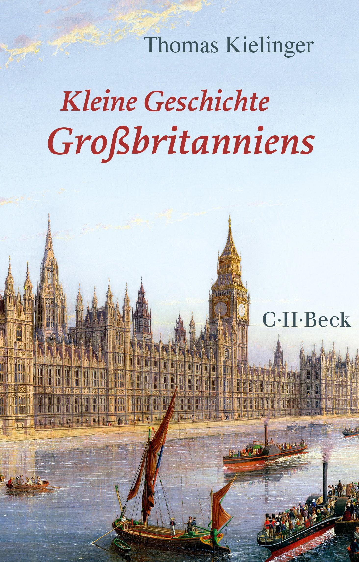 Cover des Buches 'Kleine Geschichte Großbritanniens'