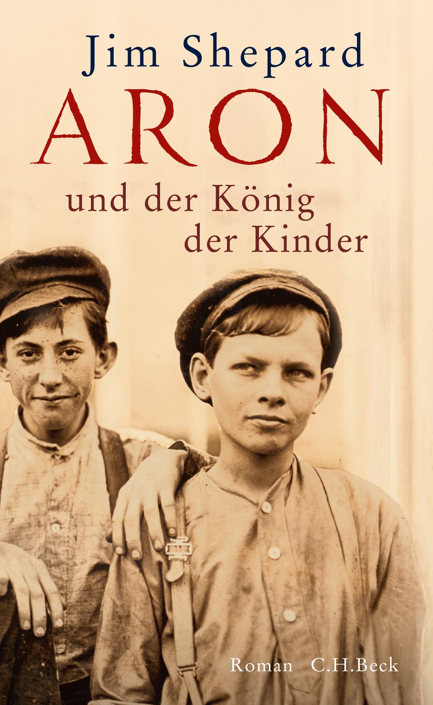 Cover des Buches 'Aron und der König der Kinder'