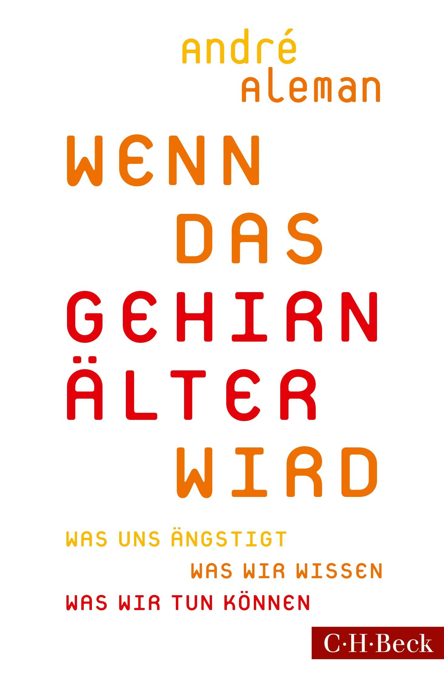 Cover des Buches 'Wenn das Gehirn älter wird'