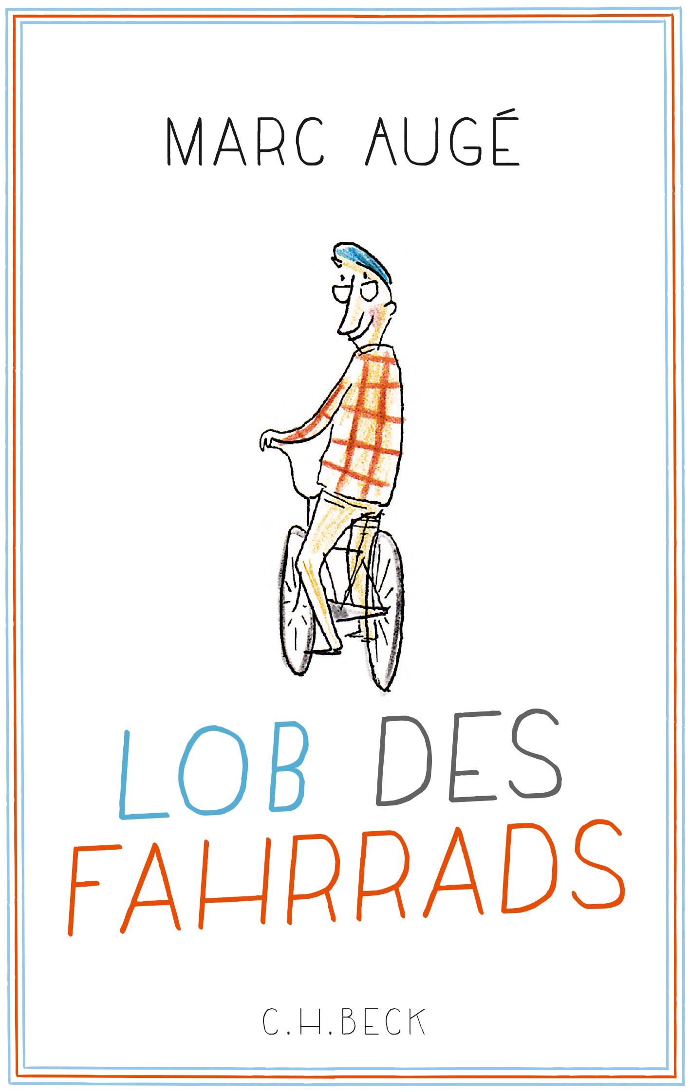 Cover des Buches 'Lob des Fahrrads'