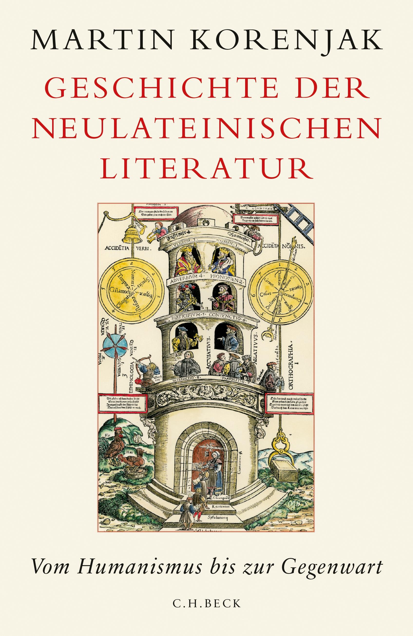 Cover des Buches 'Geschichte der neulateinischen Literatur'