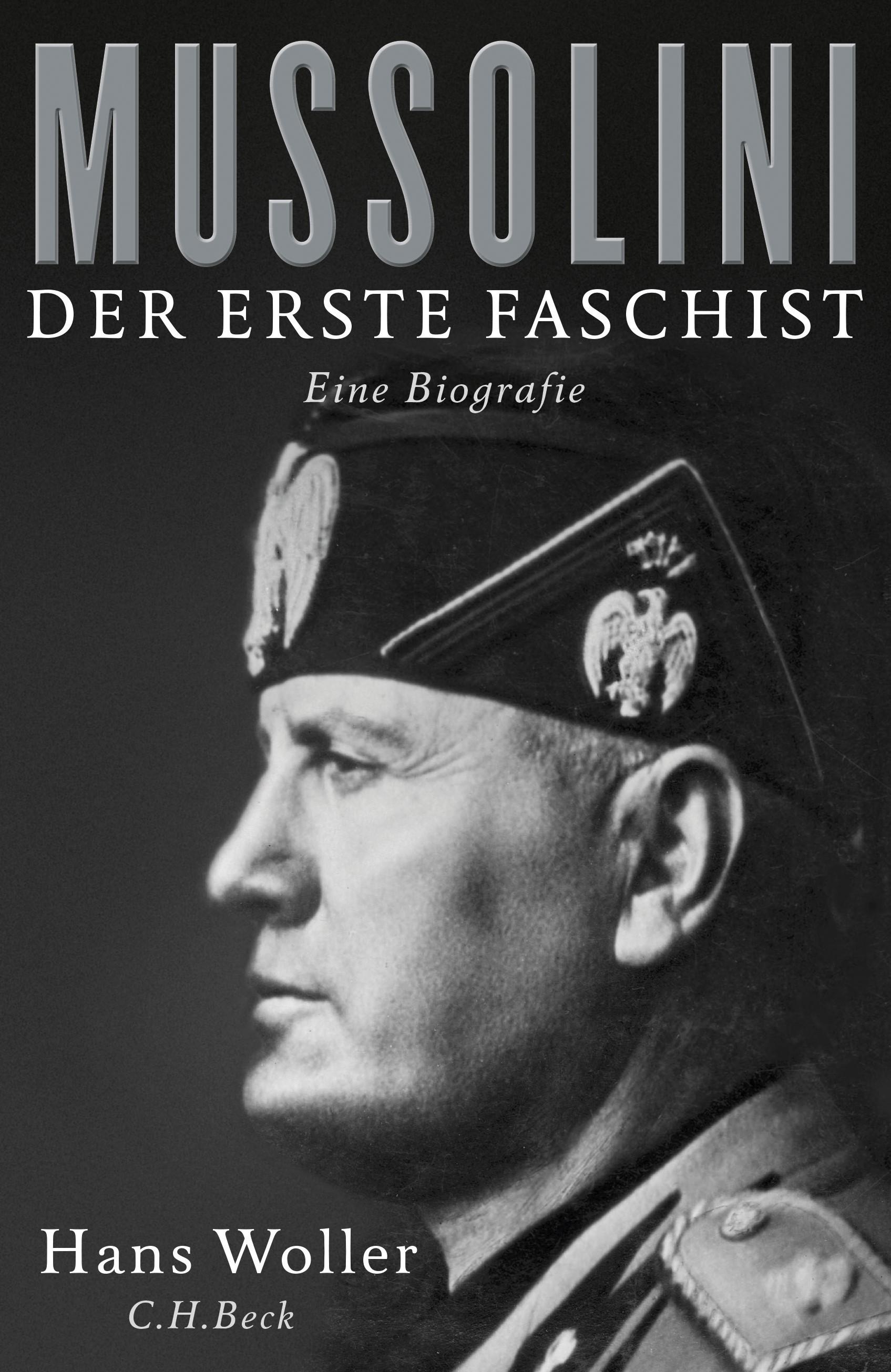 Cover des Buches 'Mussolini'