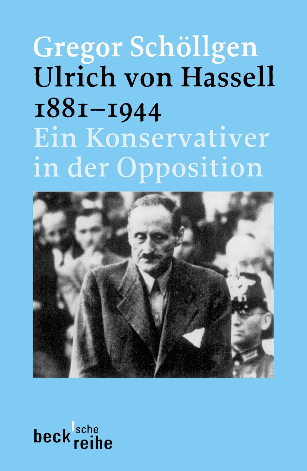 Cover des Buches 'Ulrich von Hassell 1881-1944'