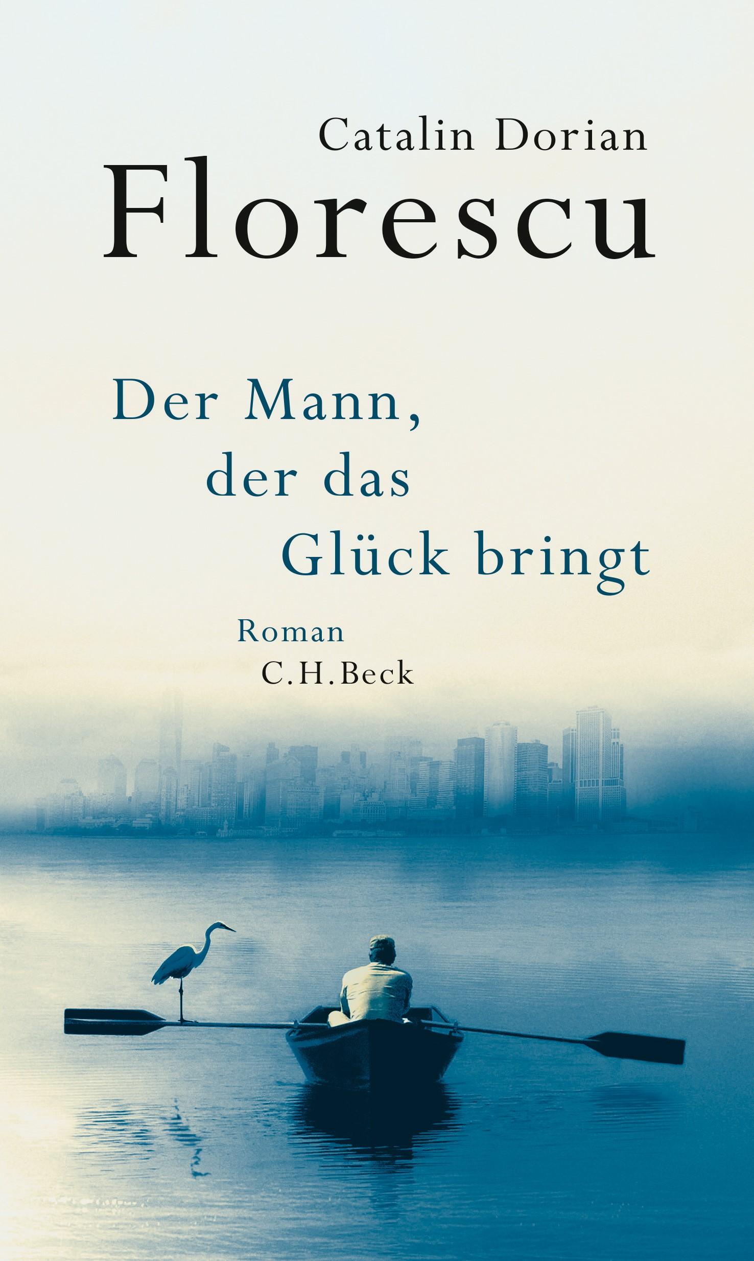 Cover des Buches 'Der Mann, der das Glück bringt'