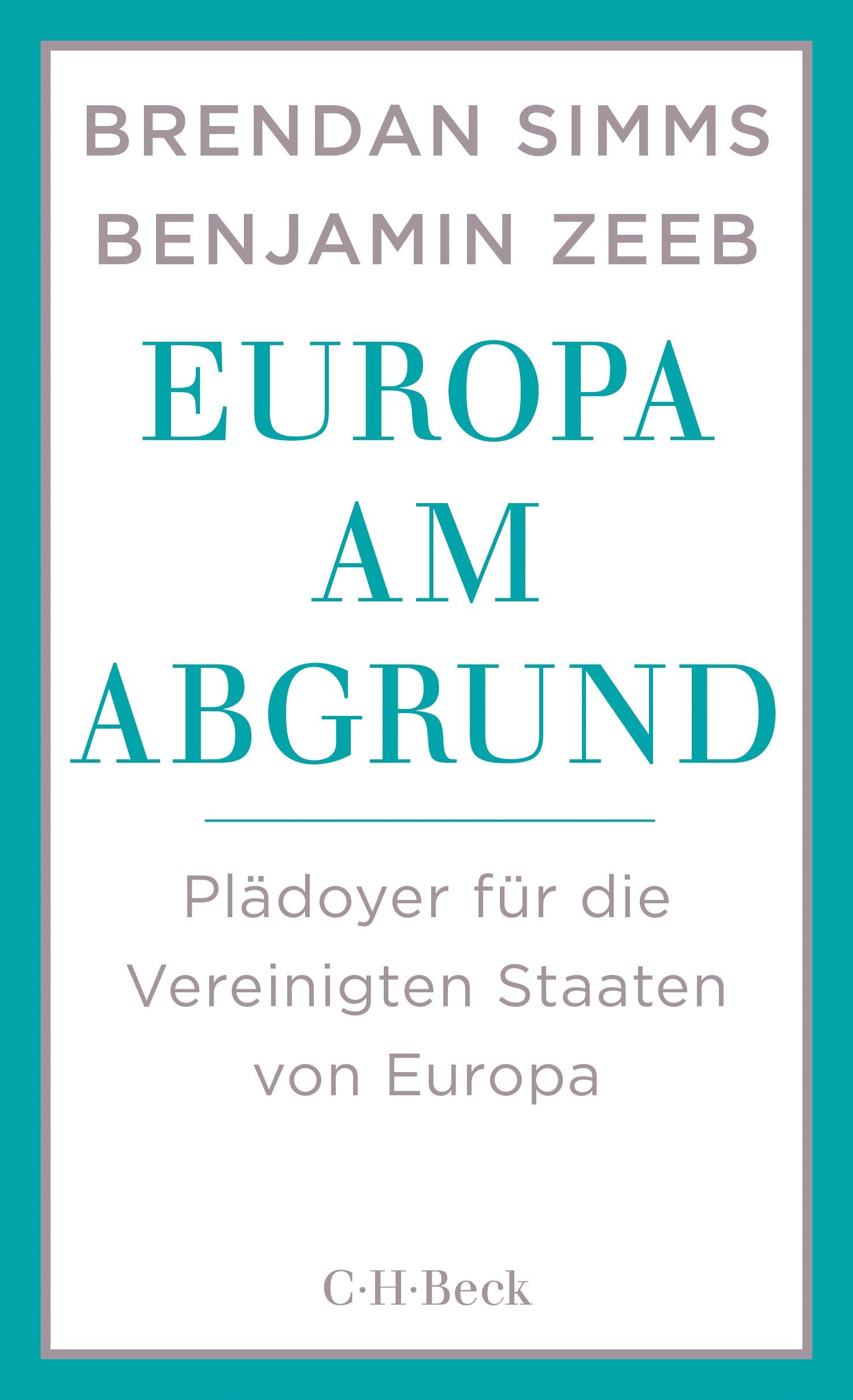 Cover des Buches 'Europa am Abgrund'
