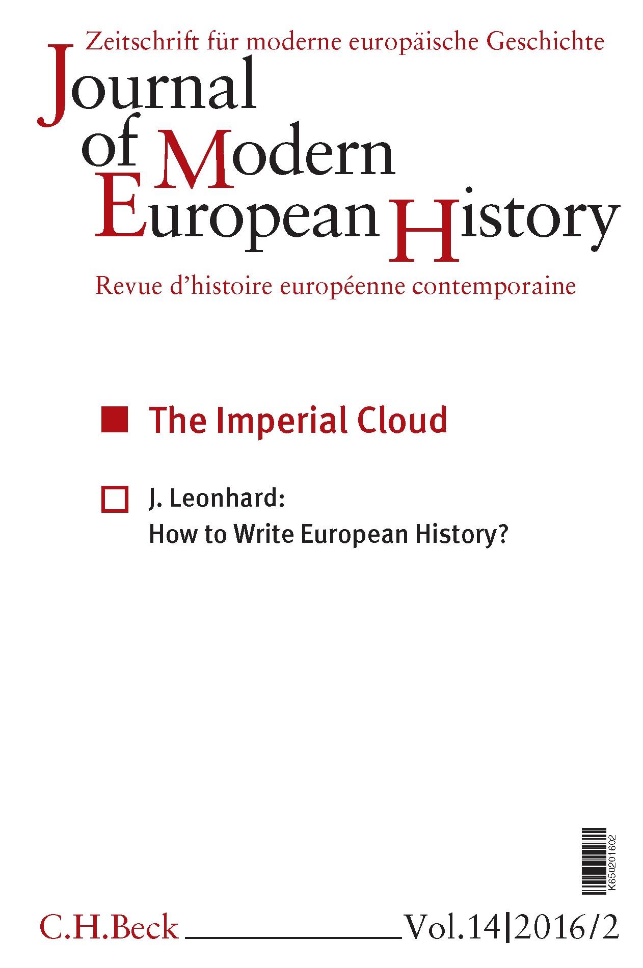 Cover des Buches 'Journal of Modern European History. Volume 14 (2016) Heft 2 = Zeitschrift für moderne europäische Geschichte = Revue d`histoire européenne contemporaine'